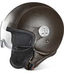 piquadro designer small leather goods, open face dark brown leather helmet w/visor