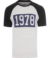 camiseta masculina bordado 1978 - preto