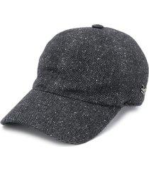 ermenegildo zegna wool baseball cap - grey