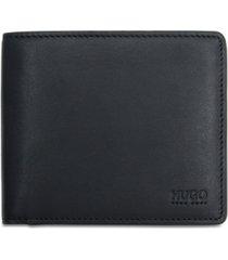 hugo boss men's leather coin wallet