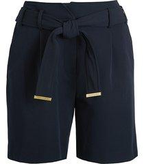 tommy hilfiger women's pysp shorts - midnight - size 2