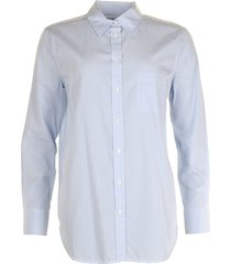 equipment blouse kenton blauw-wit