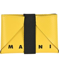 marni origami credit card case