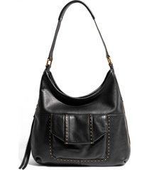 aimee kestenberg when in milan leather hobo bag - black