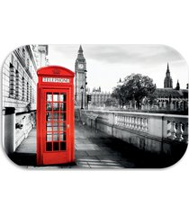 tapete decorativo  wevans london 40cm x 60cm preto - kanui