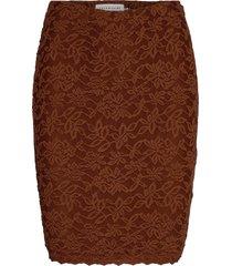 skirt kort kjol brun rosemunde