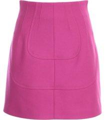 n.21 fabric short skirt