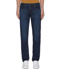 'tyler' dark wash whiskering jeans
