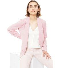 blazer ash rosa - calce ajustado