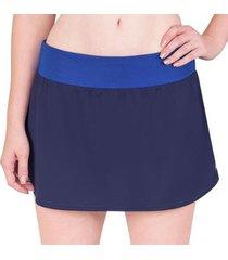 saia shorts asics club skort feminina