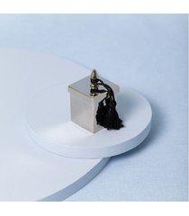 vela durance cor: prata - tamanho: único
