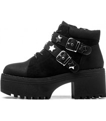 botin starlight black chancleta