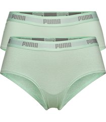 puma metal stripe hipster 2p hang trosa brief tanga grön puma
