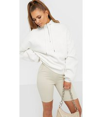 nly trend drawstring zip sweat sweatshirts