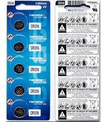 pila para reloj renata cr1216 litio 3v x5 baterias