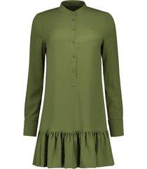 groene nikkie dames jurk rush dress - n5-244 18 0467 0032