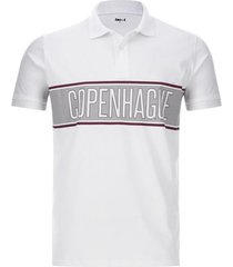 polo hombre copenhague color blanco, talla xs
