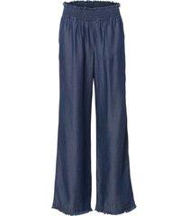 jeans a zampa in tencel™ lyocell (blu) - rainbow