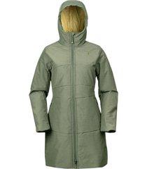 abrigo iris verde doite