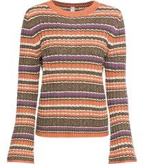 maglione con maniche a campana (arancione) - rainbow