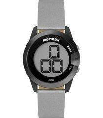 relógio digital mormaii mo13001c/8p