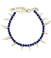 iosselliani be nomad lapis bracelet - blue