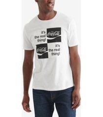 lucky brand men's coke 4 square t-shirt