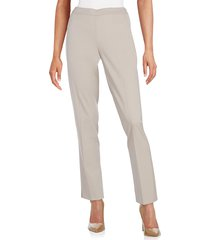 lafayette 148 new york women's bleecker stretch wool pants - ink - size 6