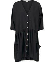 klänning onlsantis 2/4 button dress