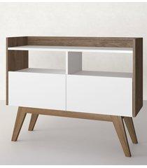 aparador buffet/bar aqua branco estilare móveis