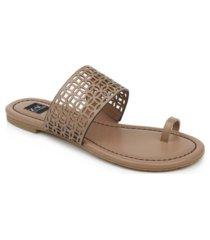 zac zac posen varana toe thong sandals women's shoes