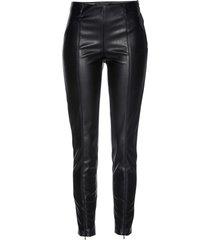 leggings in similpelle (nero) - bpc selection premium