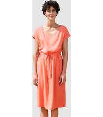 jurk dress in apricot
