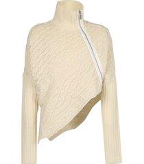 sacai asymmetric sweater