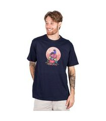 camiseta masculina blunt básica rip - marinho p