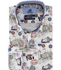 culture overhemd mouwlengte 7 holland print