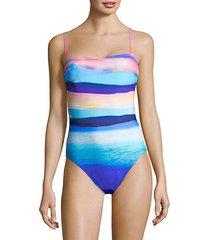 seascape one-piece tank swimsuit