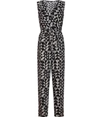 smashed lemon jumpsuit cross zwart