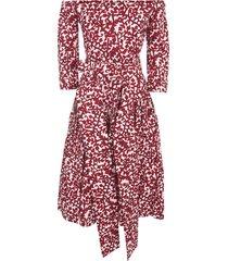 samantha sung florence long dress 3/4s off shoulder