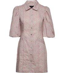 ami dress kort klänning rosa birgitte herskind
