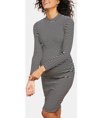 motherhood maternity ruched sheath dress