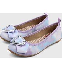 baleta lila-azul-plateado molekinha