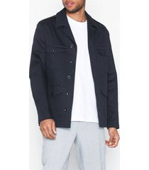 filippa k m. oliver cotton jacket jackor dark navy