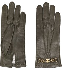 céline pre-owned 1970s pre-owned gloves - green