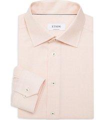 contemporary-fit textured dress shirt