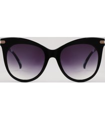 óculos de sol gatinho feminino yessica preto