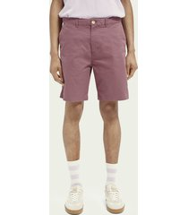 scotch & soda stuart short van pimakatoen
