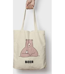 torba bear with beer