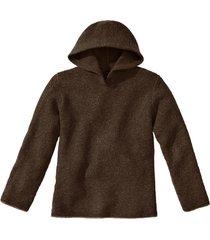 pullover met capuchon, mokkabruin 34