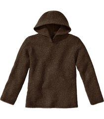 pullover met capuchon, mocca 36/38